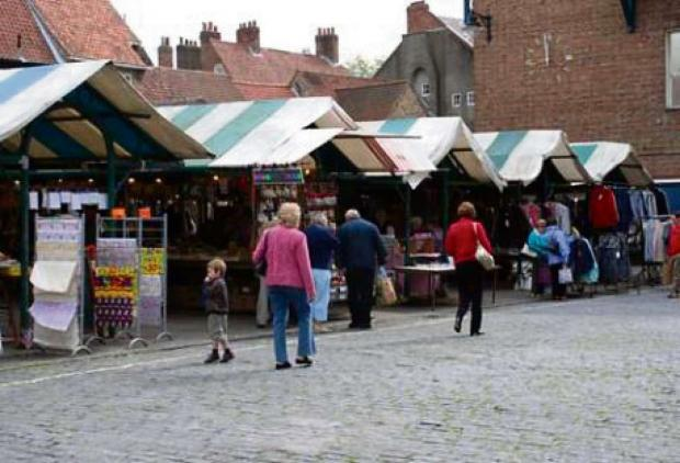 Newgate Market in York