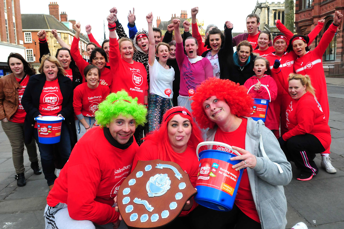 Thousands set to do their bit for Sport Relief