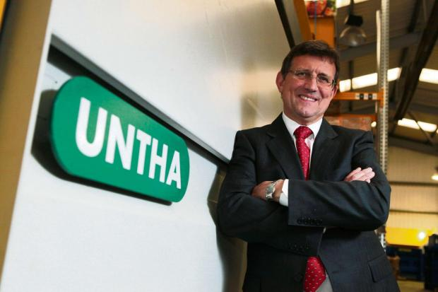 UNTHA UK's managing director Chris Oldfield