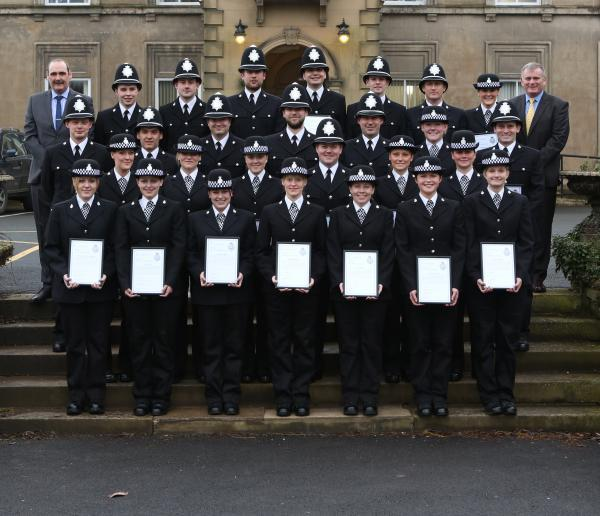 'Exemplary new officers' to go out on the beat