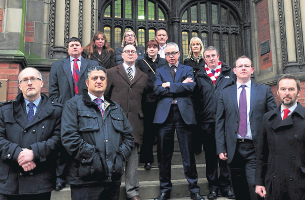 Solicitors on strike in York