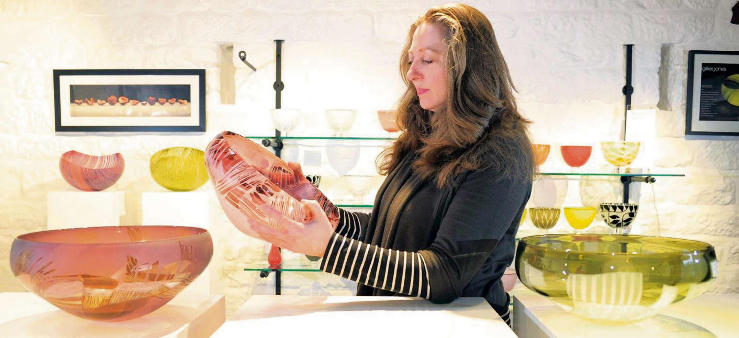 Yorkshire glassmakers' work goes on show at prestigious London exhibition