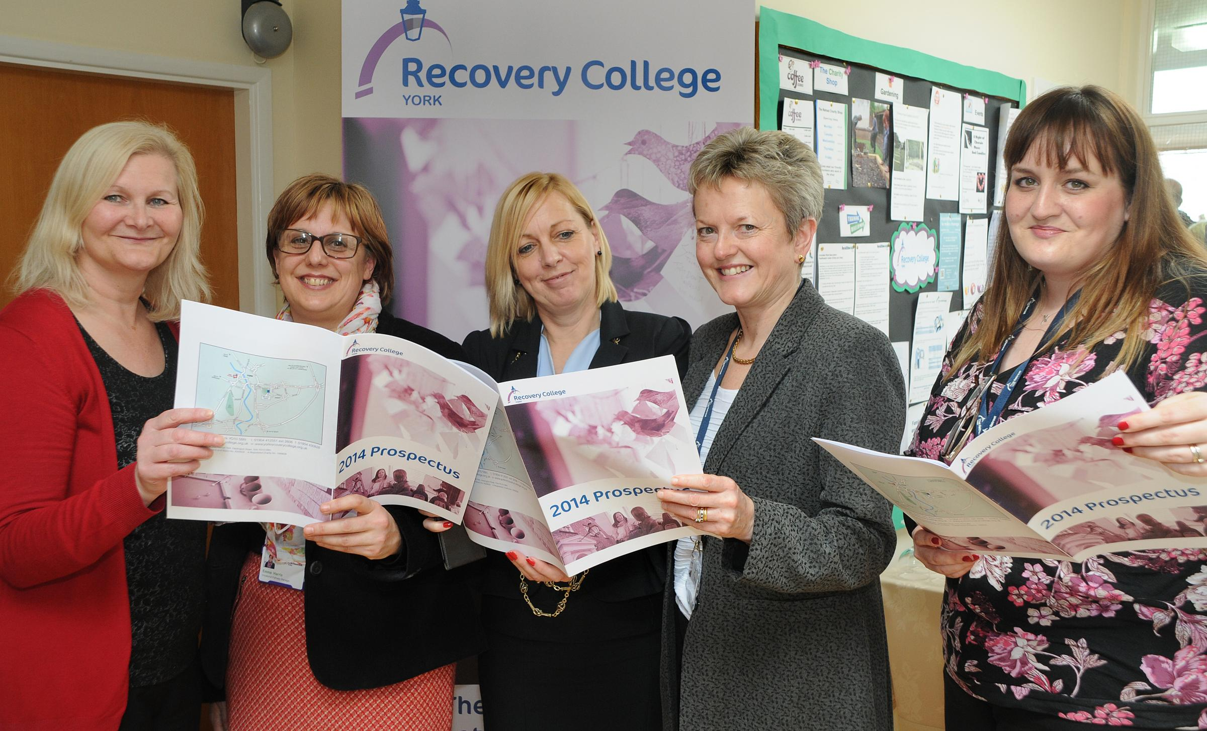 Recovery College opens at the Retreat in York