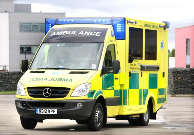 Ambulance staff could strike during Grand Depart