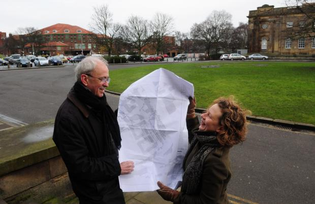 York Press: Peter Brown of York Civic Trust and Helen Graham of the York Living With History Inquiry look at plans for an improved Eye of York