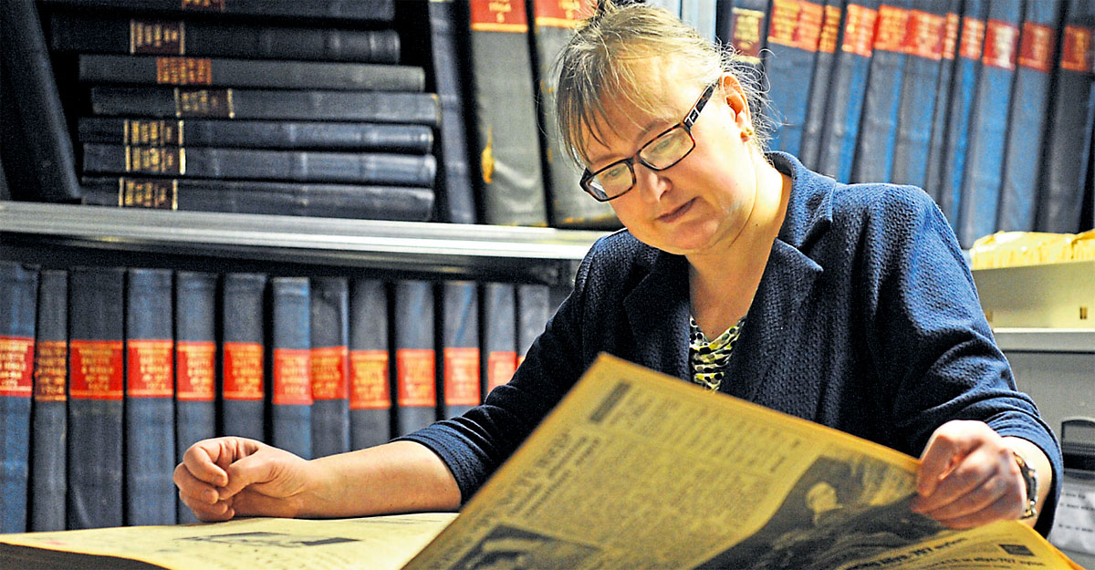 How Carol rakes over York's history for pick of our past