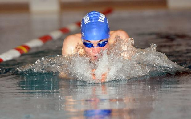York Press: York City Baths Club swimmer James Wilby.