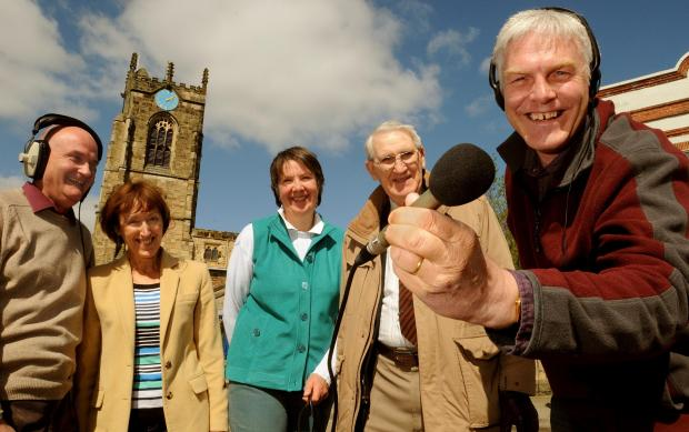 The directors of West Wolds Radio celebrate getting permission to begin broadcasting in 2015.During a photo call in Pocklington are; from left are Stuart Cocker, Rachael Campey, Jo Green, John Brown and Tony Barker