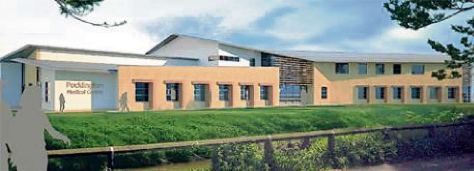 VISION: An artist's impression of the new surgery in Pocklington