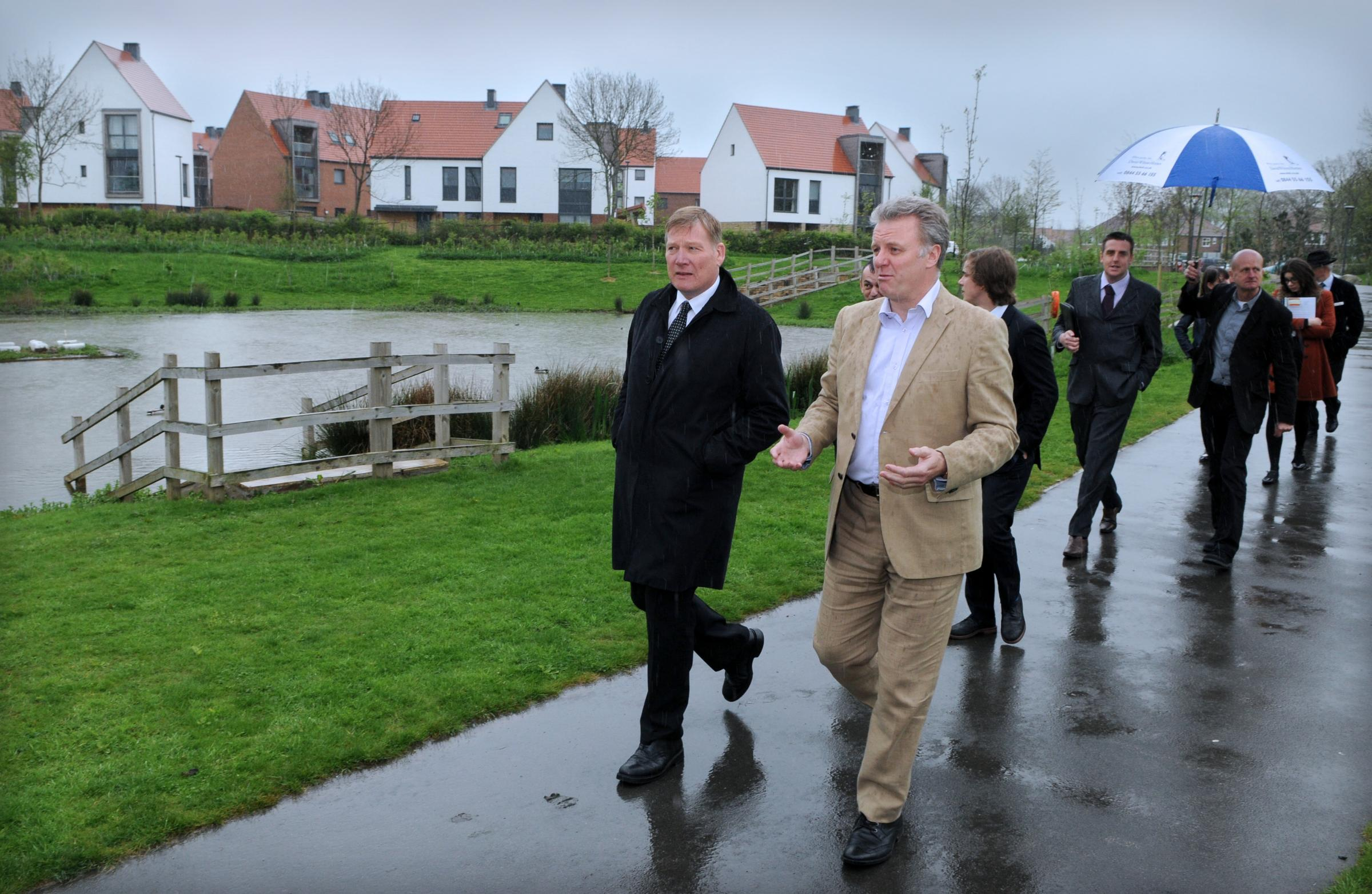 Housing Minister praises Trust's vision in creating Derwenthorpe