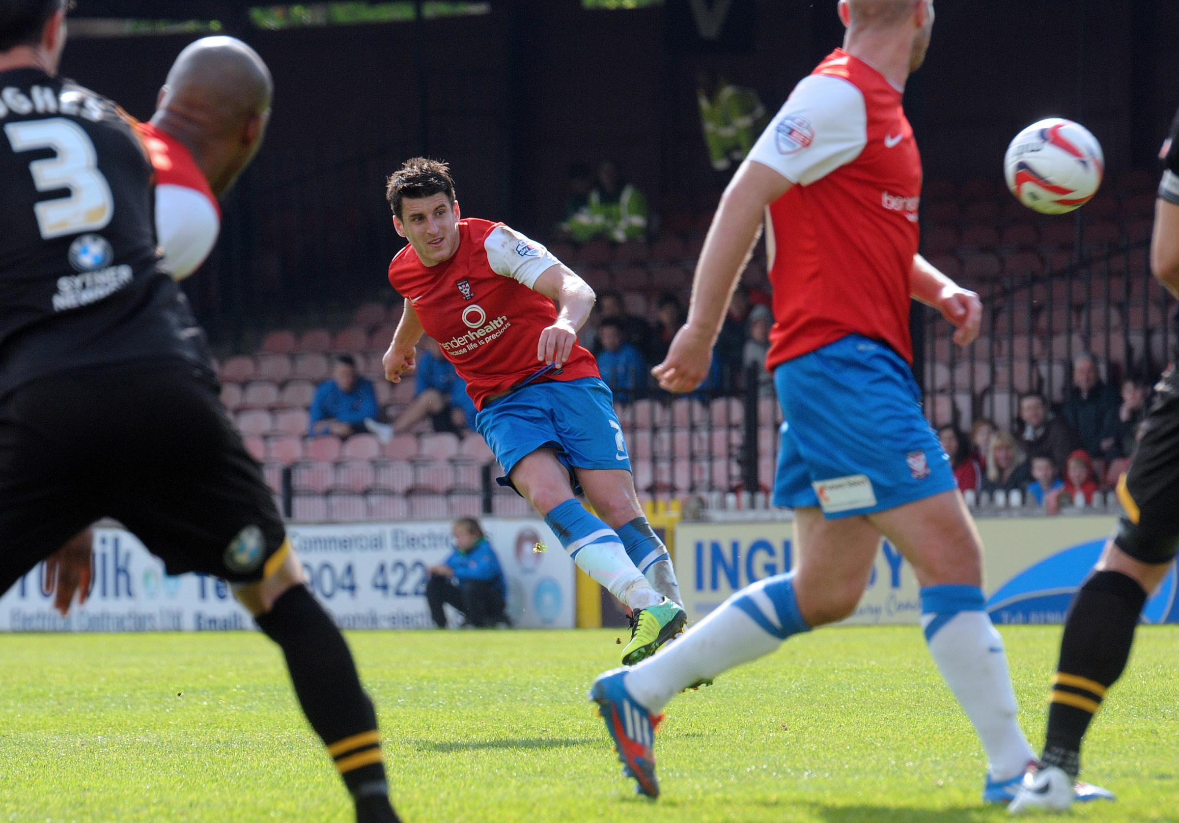 York City 1, Newport County 0