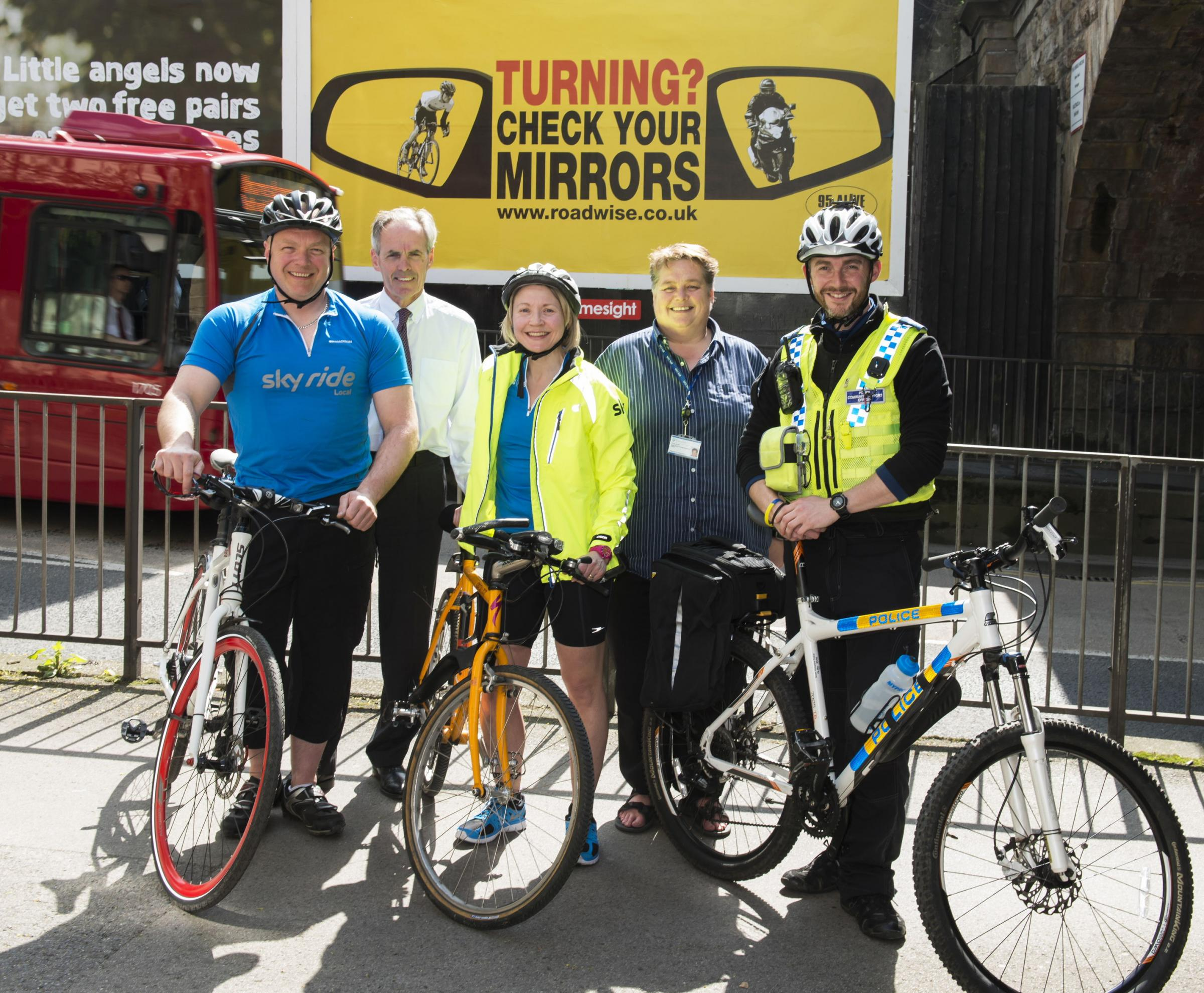 New road safety scheme launched in North Yorkshire