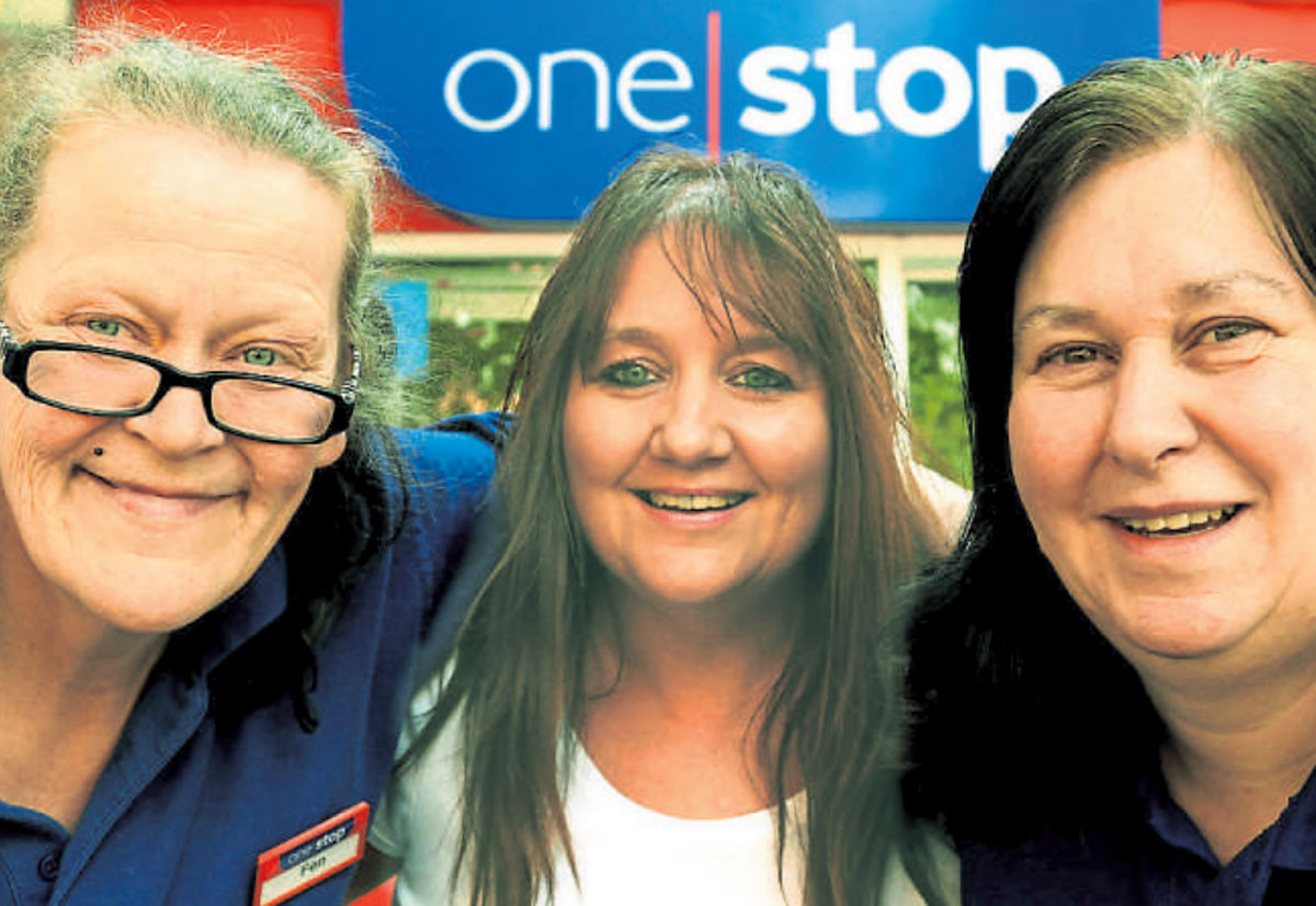 Fen Nurse, manager Jo Stephenson and Sue Frary, of the One Stop Shop in Walmgate, York
