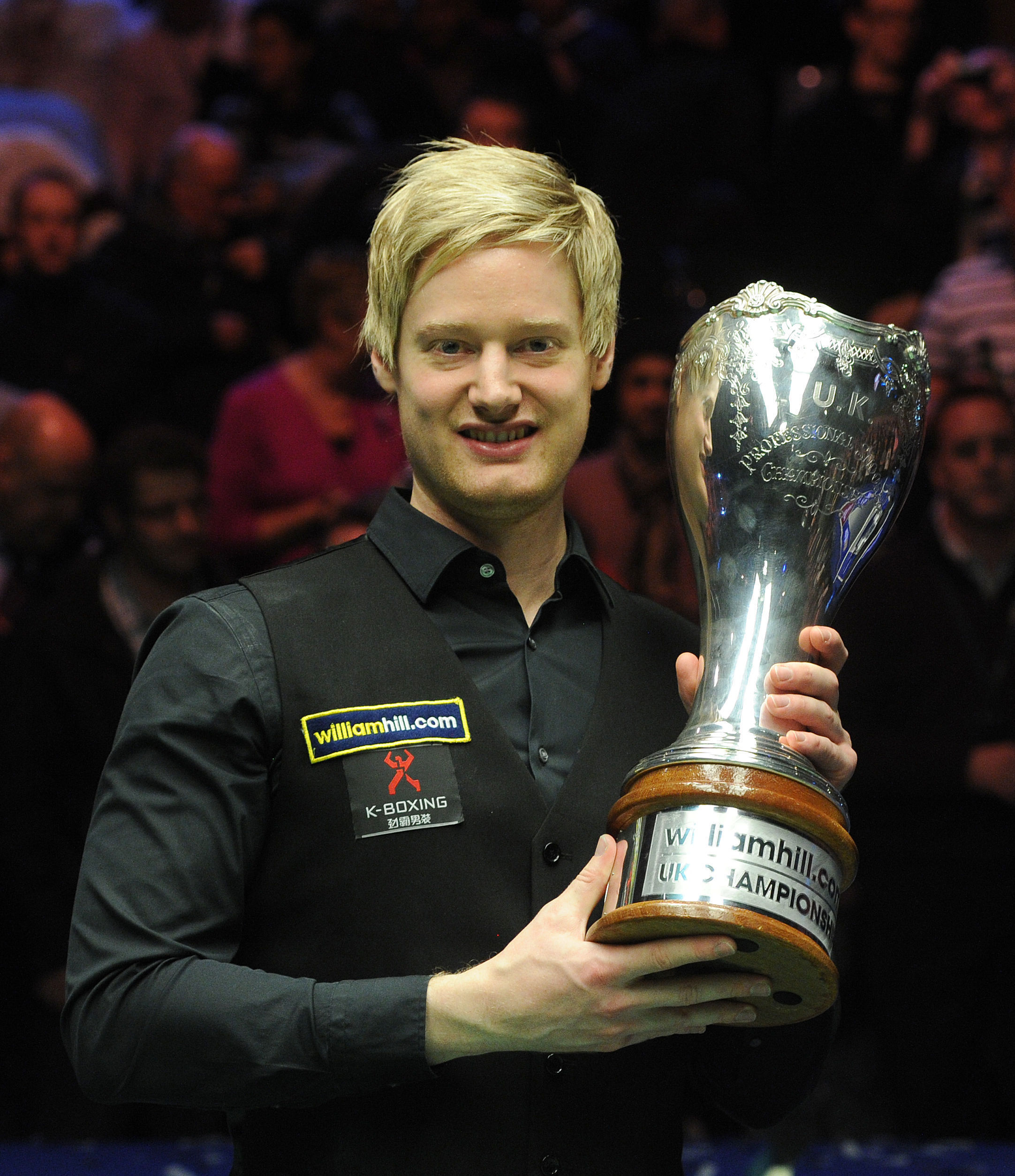 Neil Robertson, who won last year's tournament