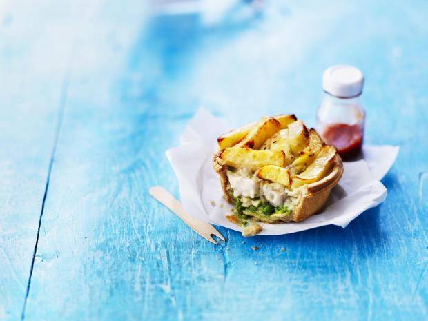 York Press: The fish and chip pie, which has chips instead of a pastry lid