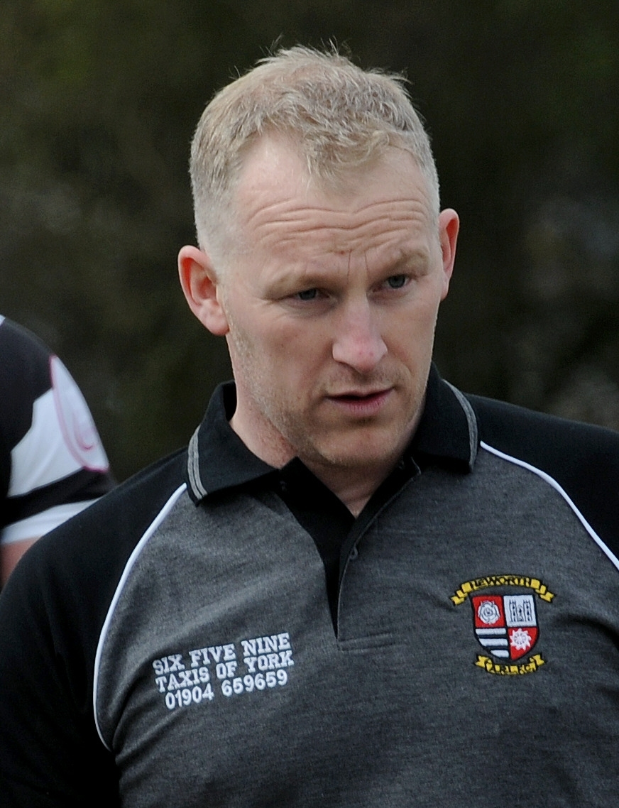 Heworth ARL head coach Tim Rumford.