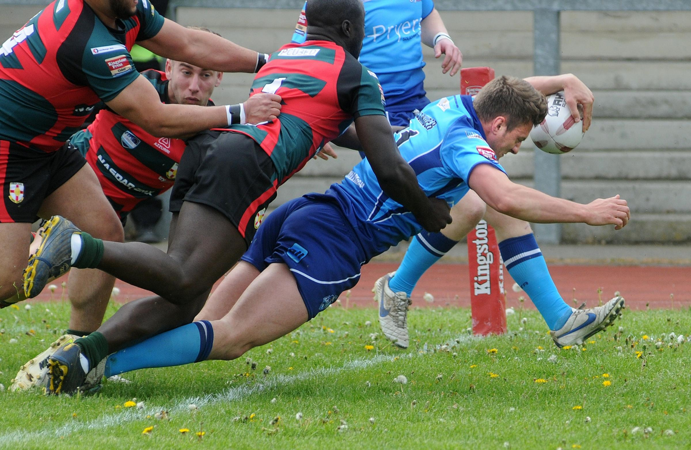 York City Knights 36, London Skolars 16