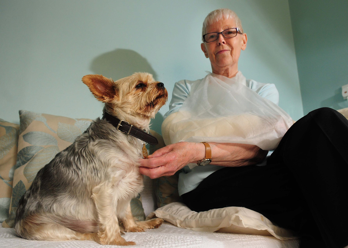 Pensioner, 74, mauled in horror attack by dog