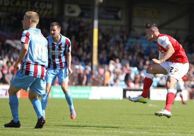 Ryan Brobbel has been instructed to go net-busting in the play-offs by City boss Nigel Worthington
