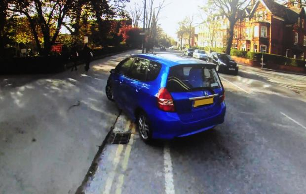 York Press: Cyclist captures drivers behaving badly on York roads
