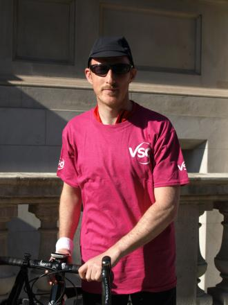 Tom Fennerty, 30, an IT consultant, will cycle the entir