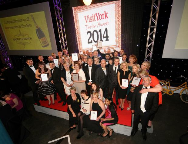 Winners of the Visit York Tourism Awards 2014