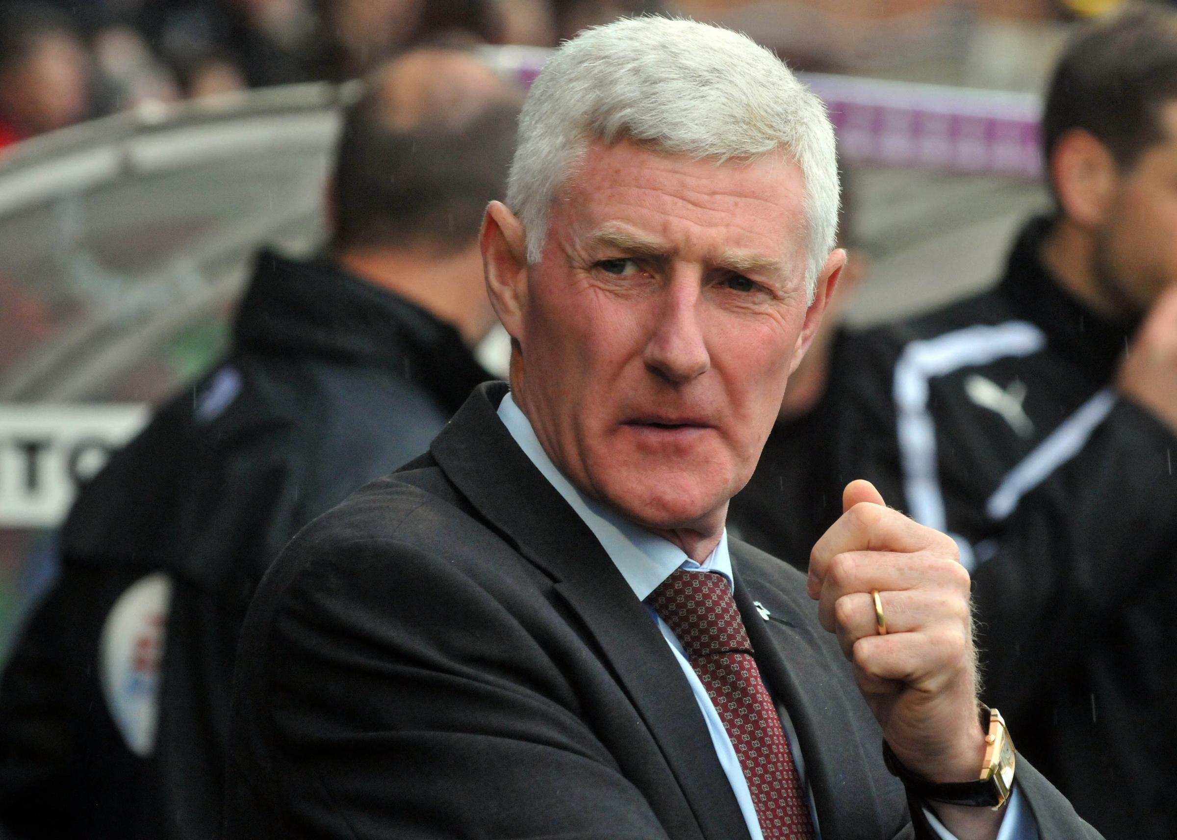 York City manager Nigel Worthington on the touchline during his side's 1-0 play-off defeat to Fleetwood