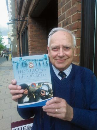 NEW CHAPTER: Ray Kidd, pictured with his new book