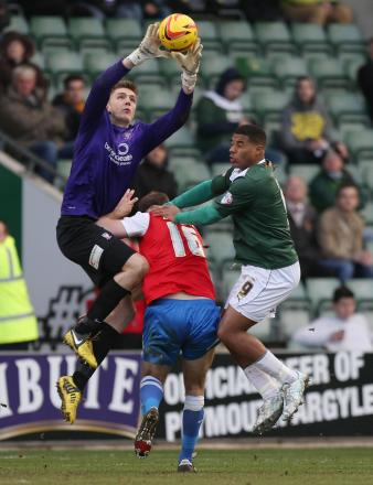 Former York City loan goalkeeper Nick Pope