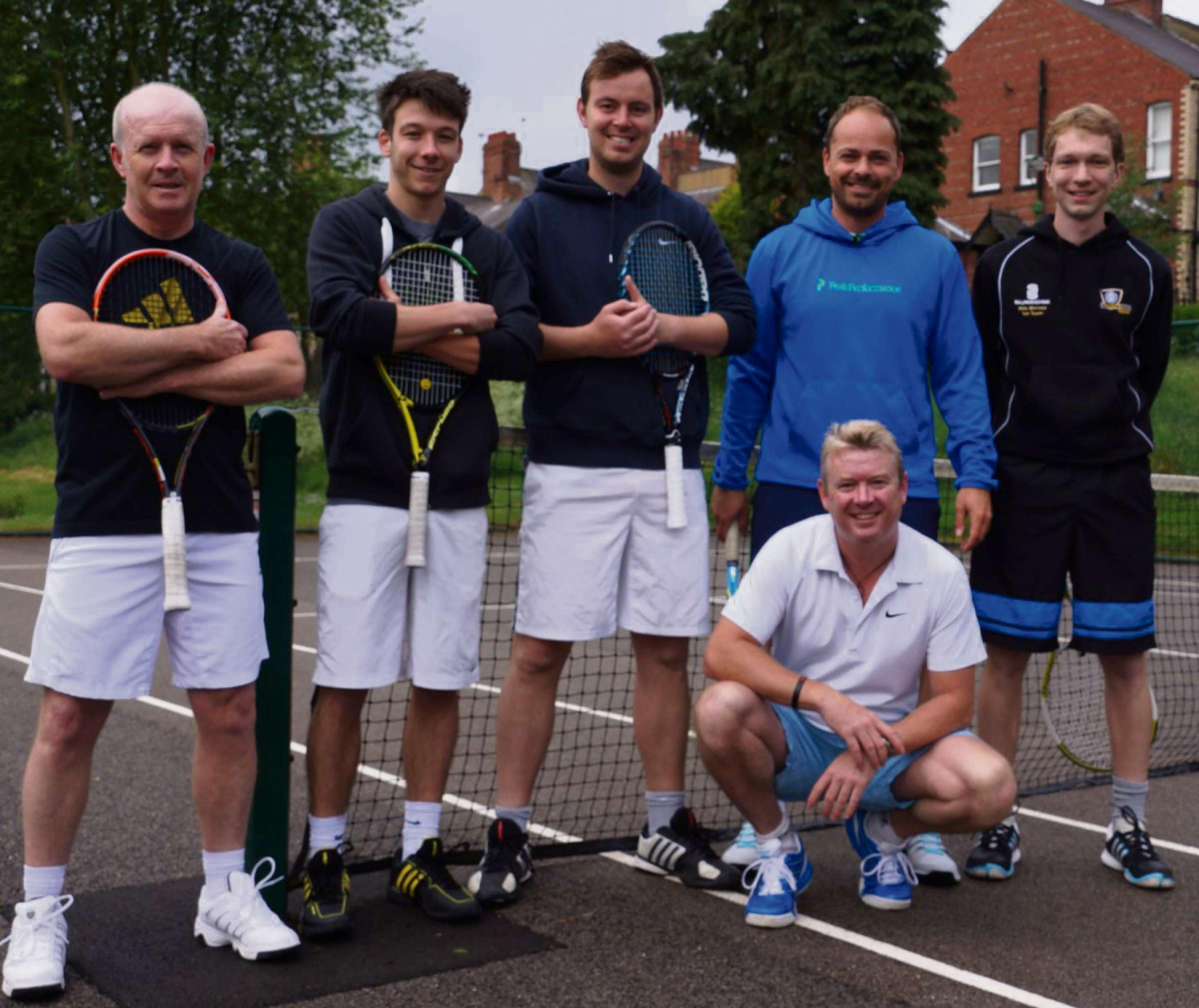 Tennis: Davies and Spavin spearhead Rowntree success