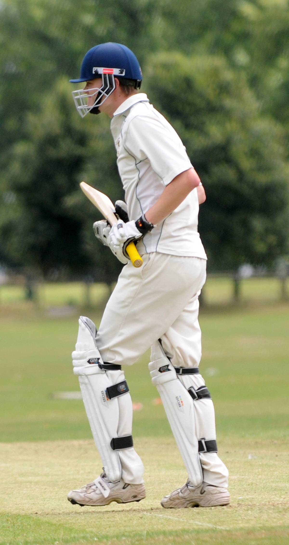 Pete Kelly, whose top-score 37 for Ovington proved enough to halt North Cave's victory push in the HPH Cup opening round