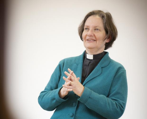 The Very Reverend Vivienne Faull, who spoke about the common good