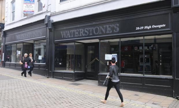 The old Waterstone's store in High Ousegate