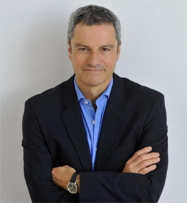 HONOUR: BBC journalist and author Gavin Esler