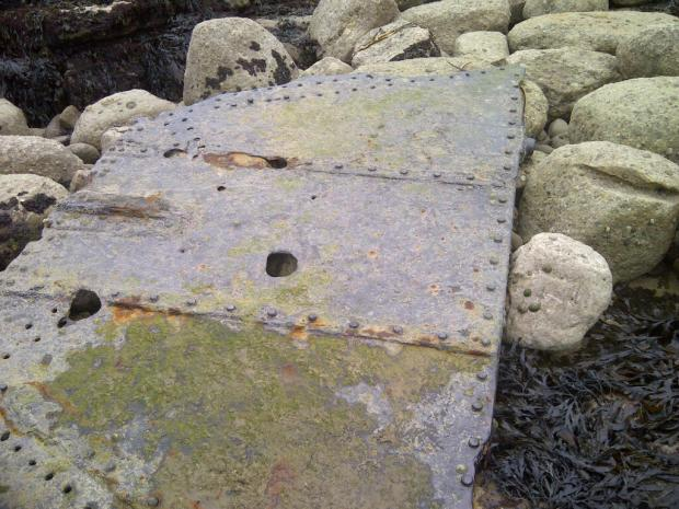 Is boy's North Yorks coast find part of historic wreck?