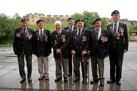 "The ""Magnificent Seven"" Normandy veterans"
