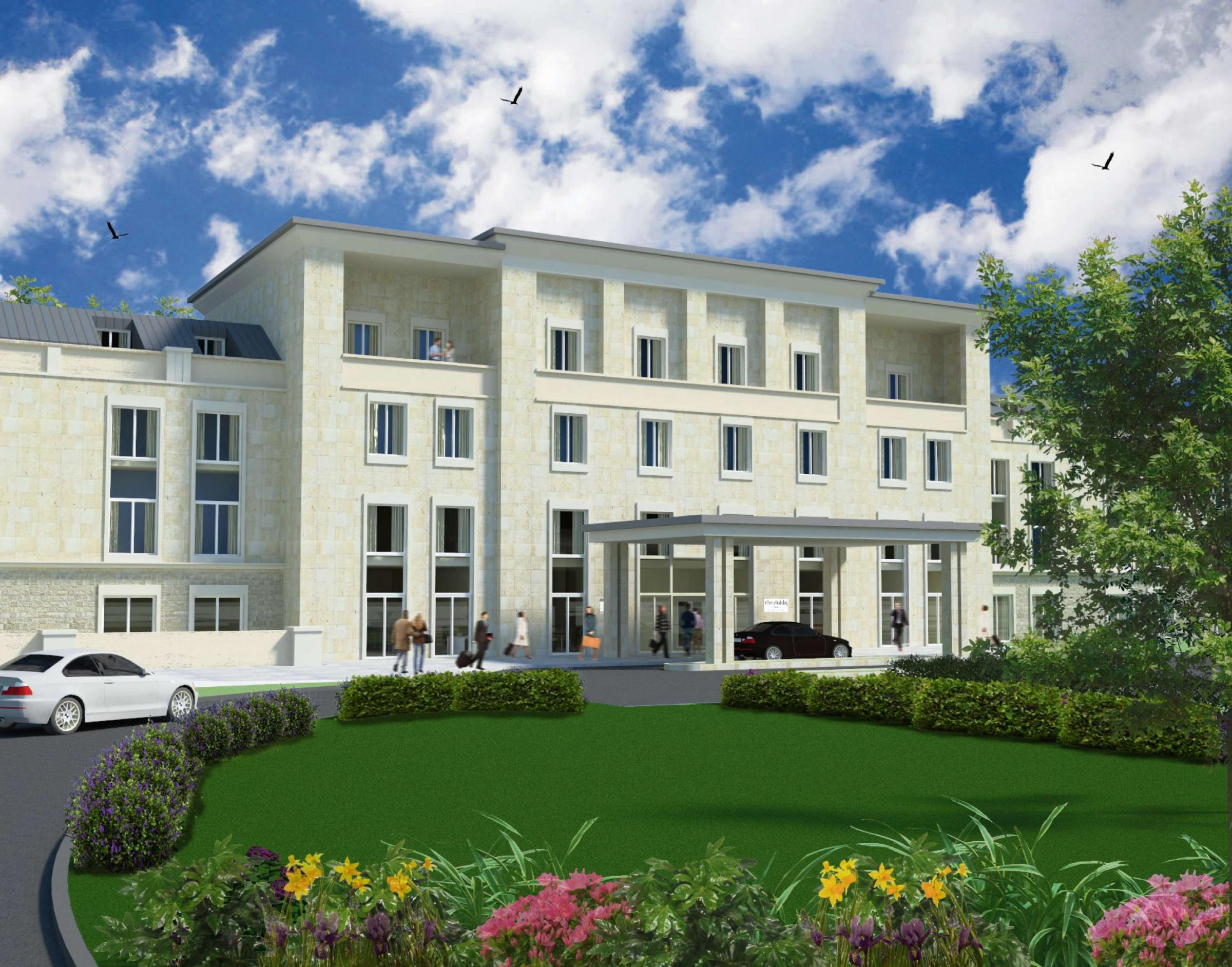 An artist's impression of the Flaxby Country Resort