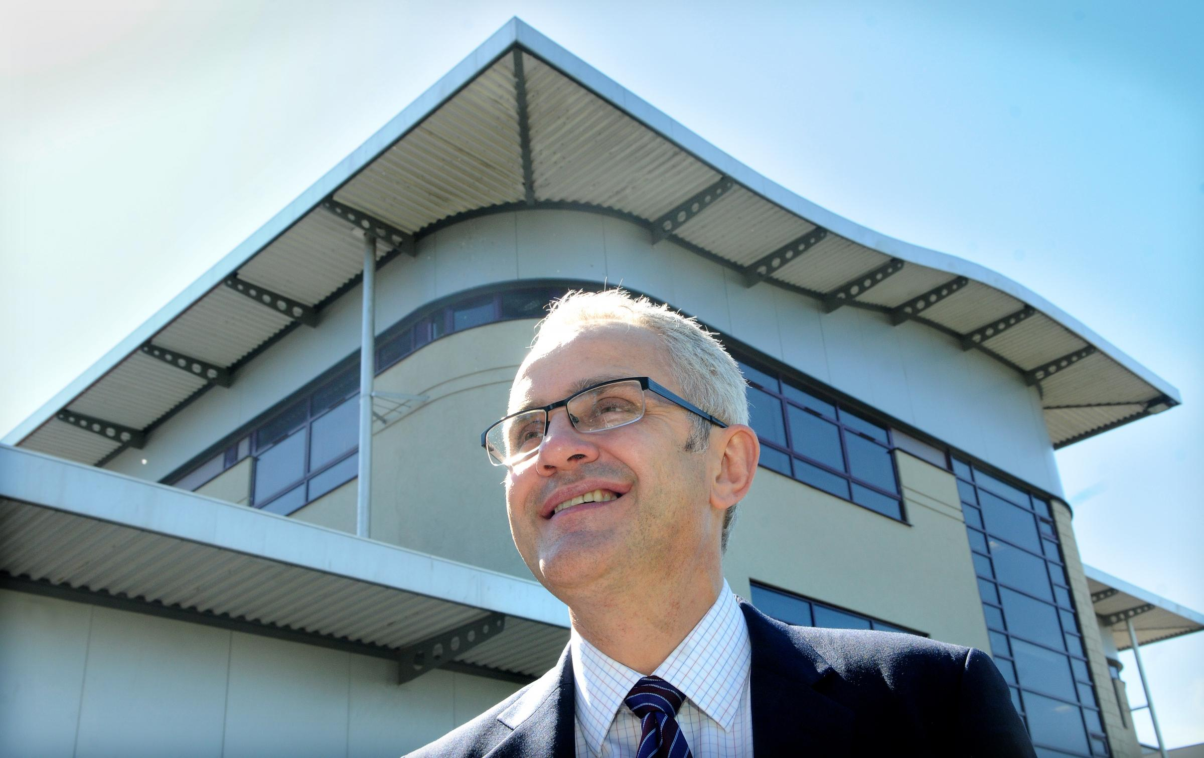 Huntington School head John Tomsett