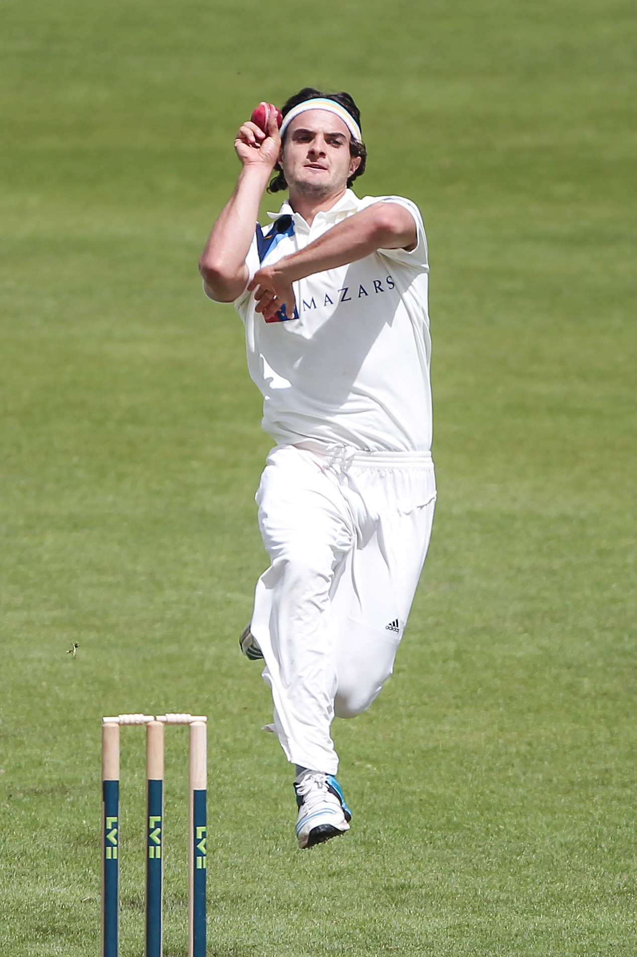 Yorkshire bowler Jack Brooks