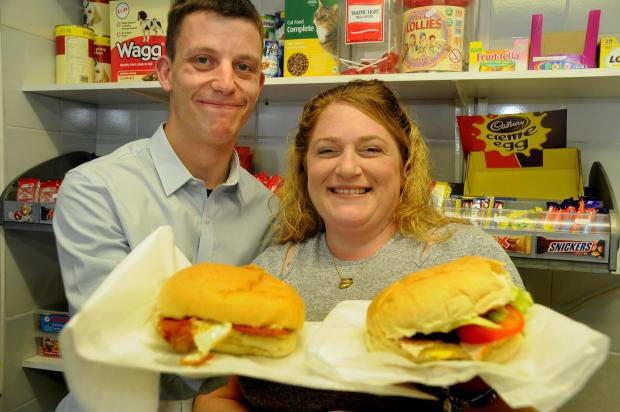 York Press: Carl and Amanda Ruddock who won a million pounds on a lottery scratch card a year ago and invested some of it in a sandwich shop on Monkton Road, York