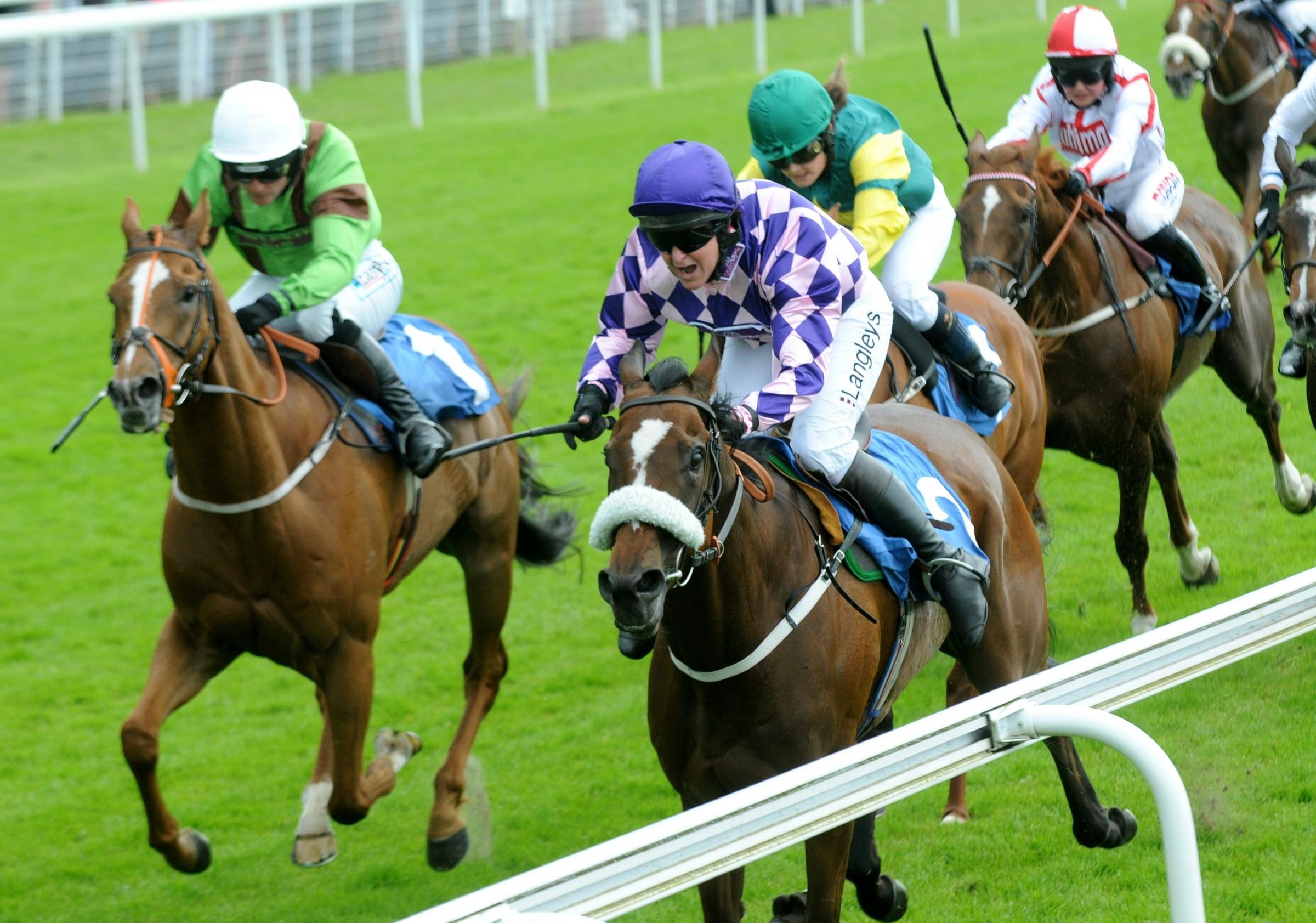 Serena Brotherton claims hat-trick of Queen Mother's Cup wins at York Racecourse