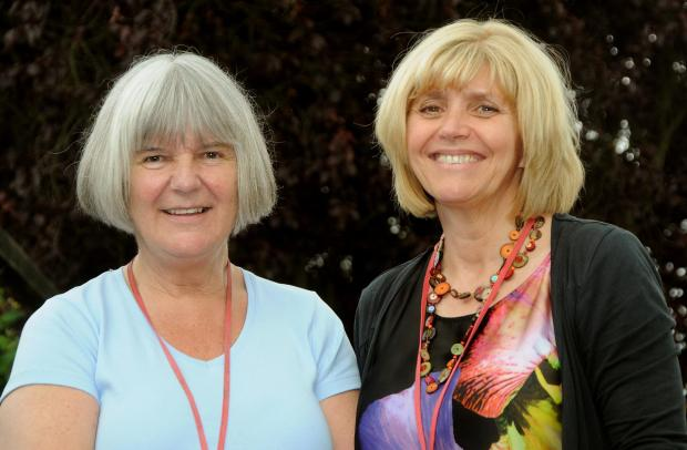 Poppleton Ousebank teachers Janet Taylor, left, and Janet Pringle, right, who have been nominated for community pride awards.