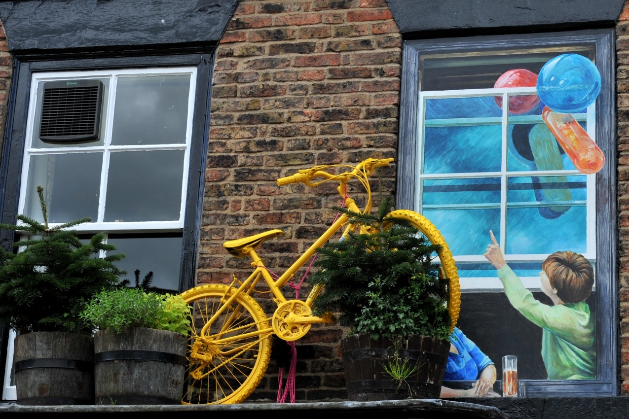 North Yorkshire town gets in the mood for the Tour de France