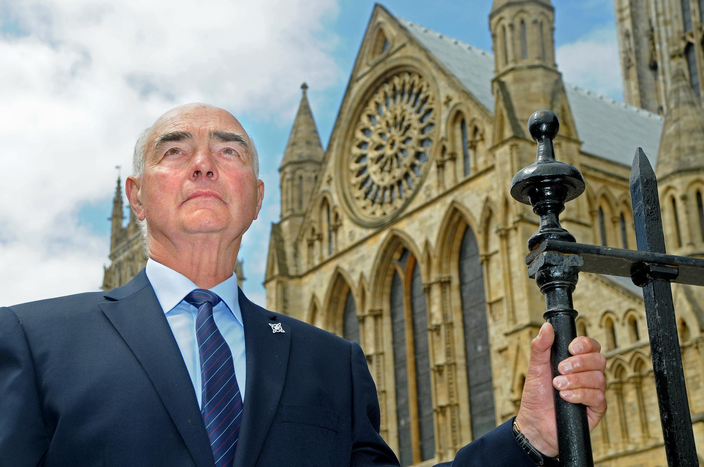 Former fire chief recalls the day the Minster burned