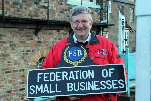Simon Williams, North Yorkshire Regional Chairman, Federation of Small Businesses  (7373875)