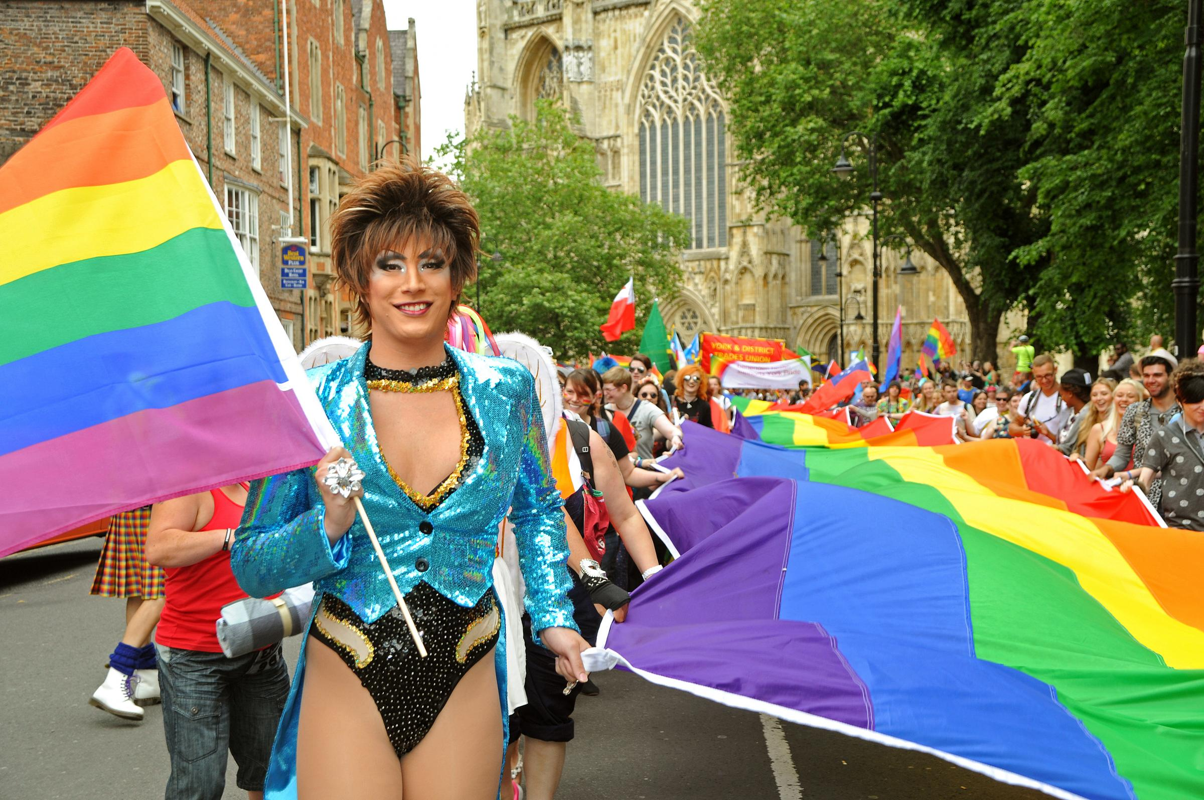 1,500 gather for York Pride parade