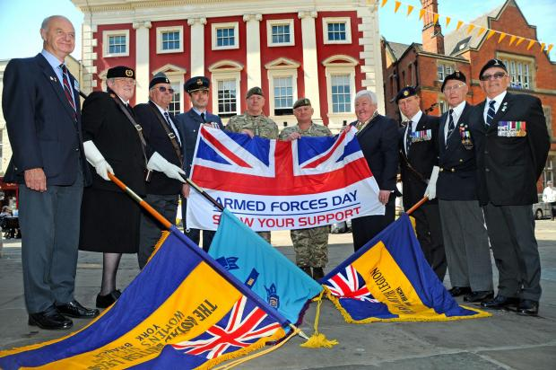 Ex-service personnel mark Armed Forces Week