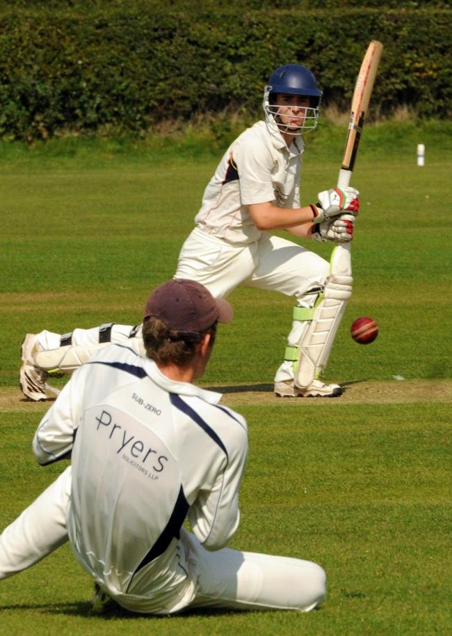 CLASSY INNINGS: Mike Hattee's 76 off 51 balls helped Osbaldwick to an impressive seven-wicket win over Heworth