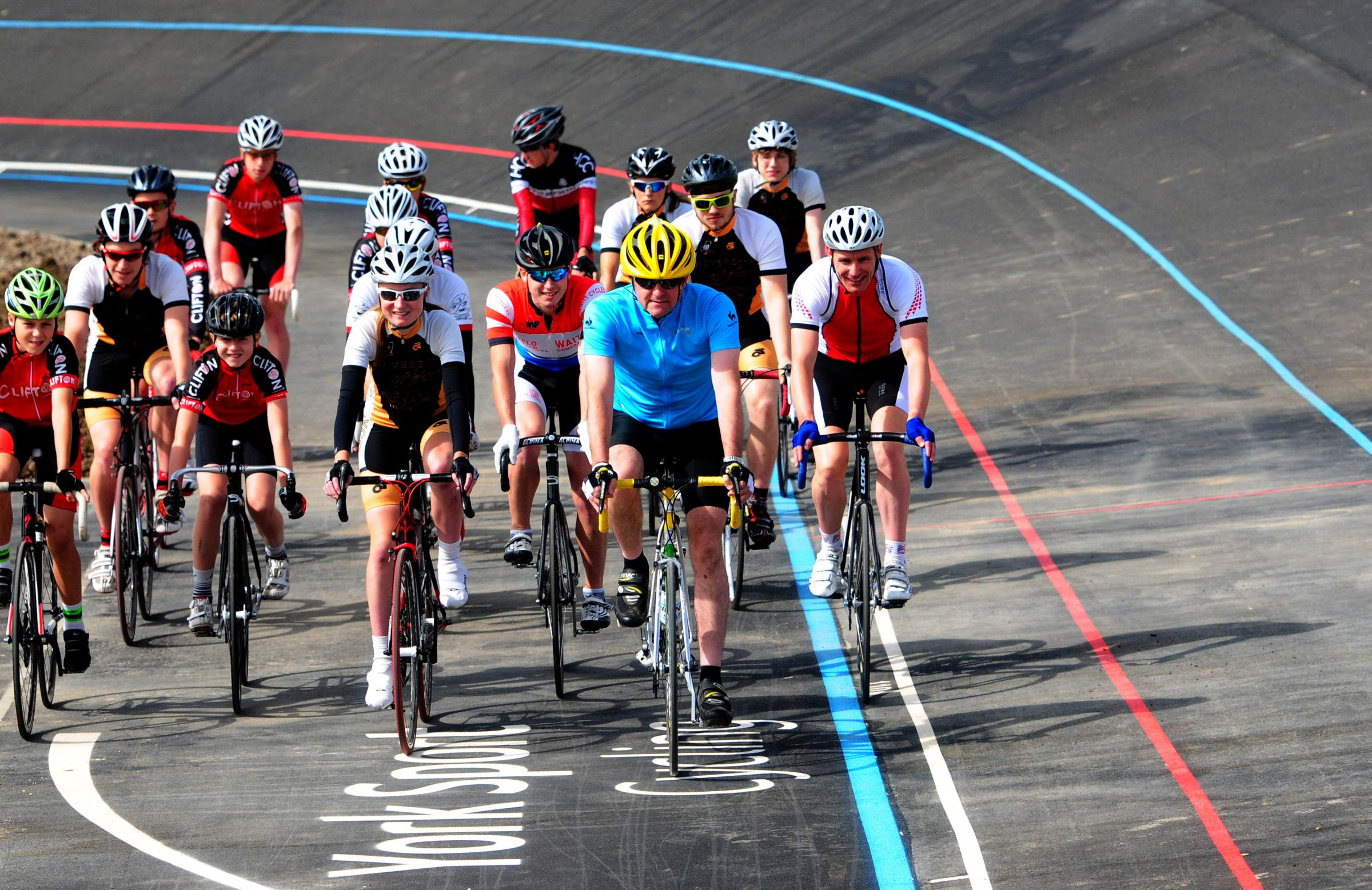 New outdoor cycling velodrome opening in York