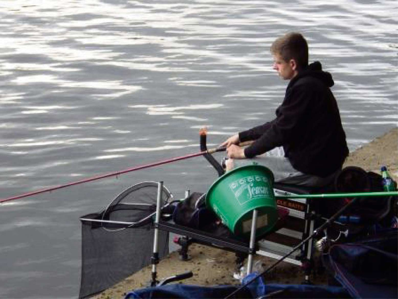 Angling: Charlie Burton finishes top at Junior Open